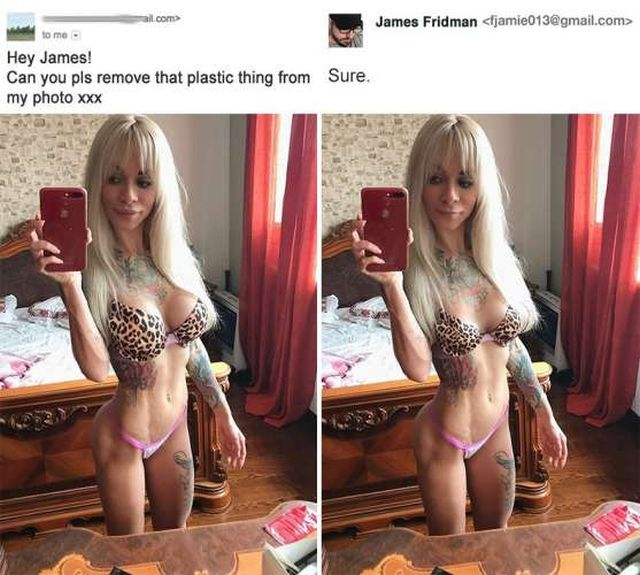 Photoshop Troll (21 pics)