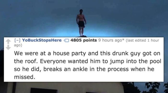 Most WTF Party Stories Not For the Faint of Heart (10 pics)