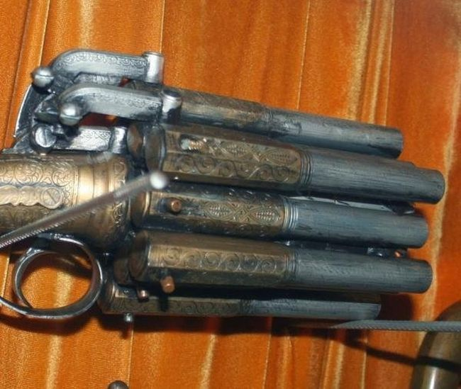 Strange Flintlock Guns With A Touch Of Overkill (33 pics)