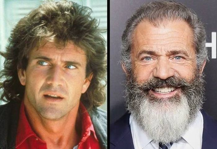 Male Actors Then And Now (16 pics)