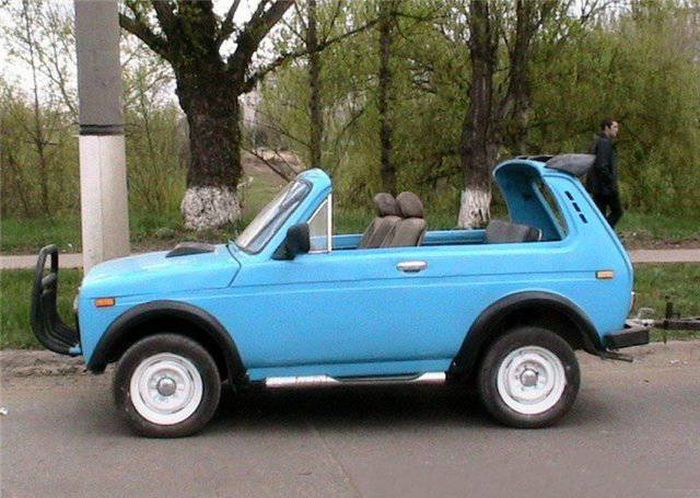 Russian SUV Car Tuning. Niva Edition (24 pics)