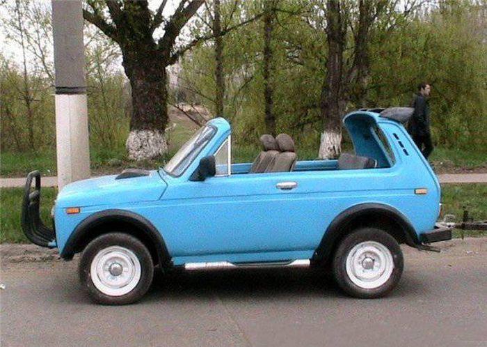 Russian SUV Car Tuning. Niva Edition (24 pics)