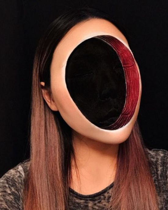 Makeup Artist Makes Scary Optical Illusions Without Using Photoshop (20 pics)