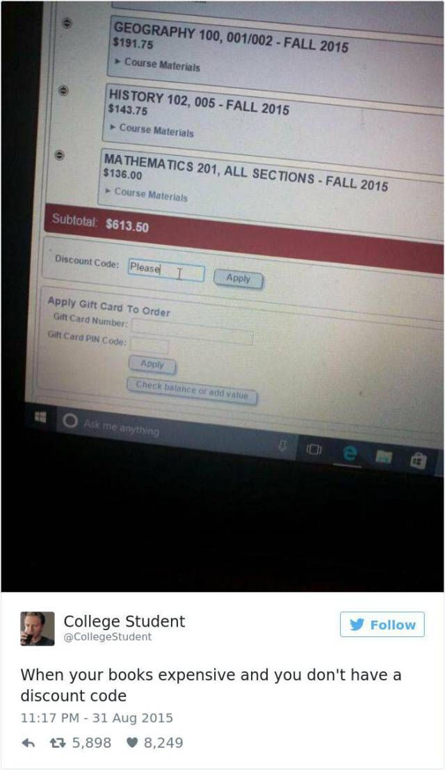 Memeing About College Is The Last Thing You Can Do There To Not Cry (37 pics)