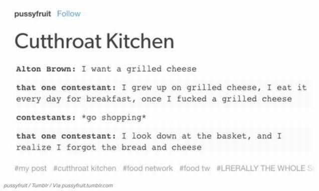 """Food Network Shows Are Roasted By The Internet To A """"Very Well Done"""" State (25 pics)"""