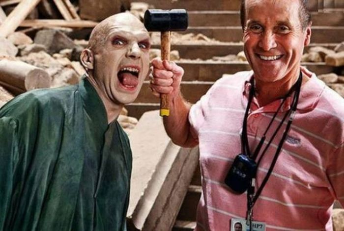 Behind The Scenes Of The Famous Movies (30 pics)