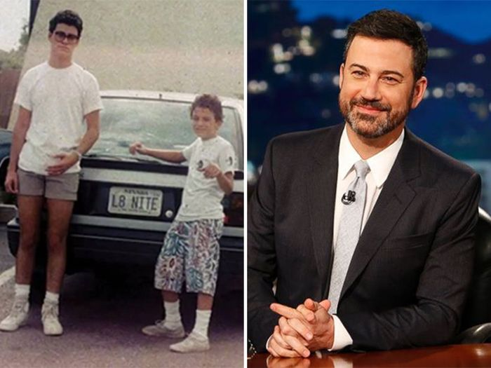 Celebs Share Their Awkward Teen Photos For Hurricane Relief (16 pics)
