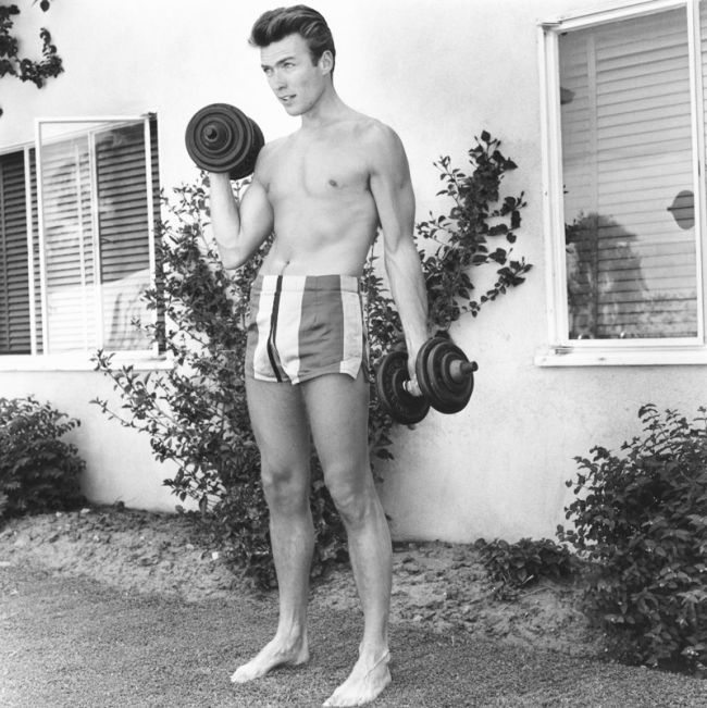 Clint Eastwood In 1956 (12 pics)