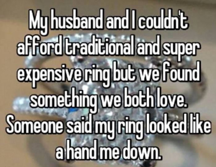 What Brides Really Think About  Their Engagement Rings (17 pics)