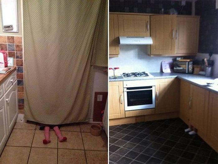 Hide And Seek Professionals At Work (28 pics)