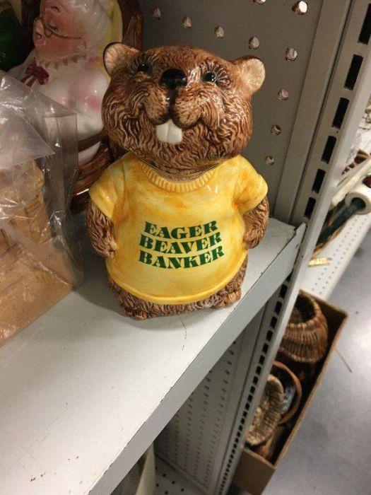 Awkward Things Found At Thrift Shops (28 pics)