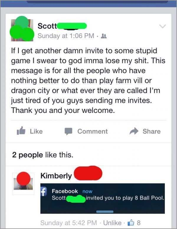 People Who Got Exactly What Was Coming To Them On Facebook (27 pics)