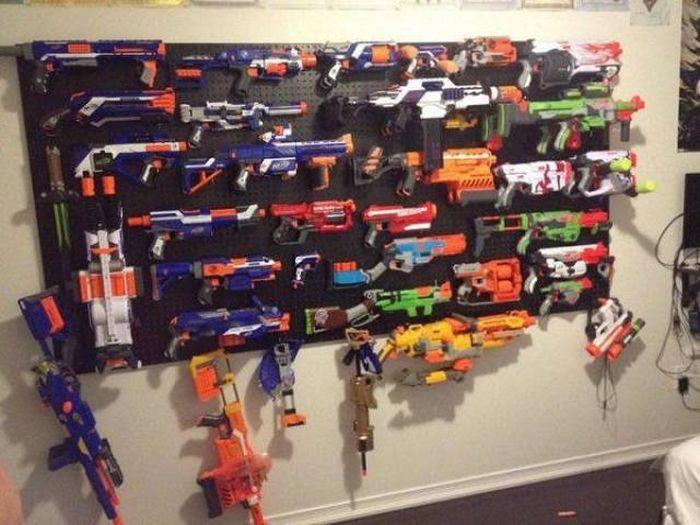 Nerf Guns (24 pics)