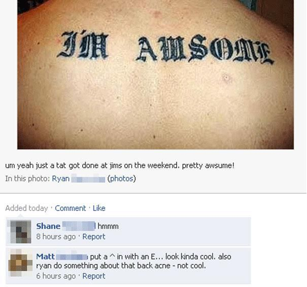 Tattoo Fails (18 pics)