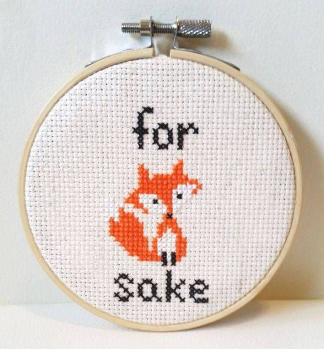 Very Cool Cross Stitches (32 pics)