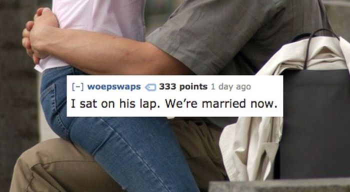 Not-So-Subtle Ways Girls Tried To Pick Up Guys (12 pics)