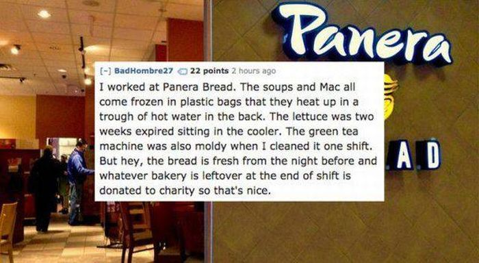 Chain Restaurants Workers Give You Some Useful Advices (16 pics)