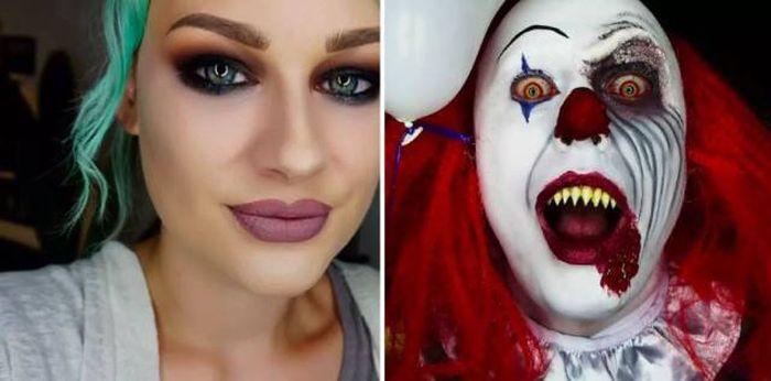 Scary Halloween (17 pics)