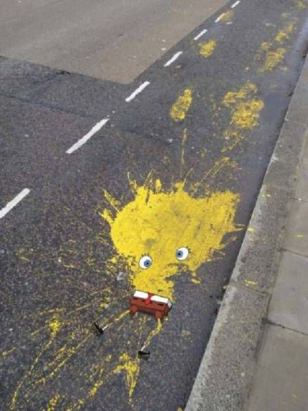 Some Street Art You Just Can't Call Vandalism (22 pics)