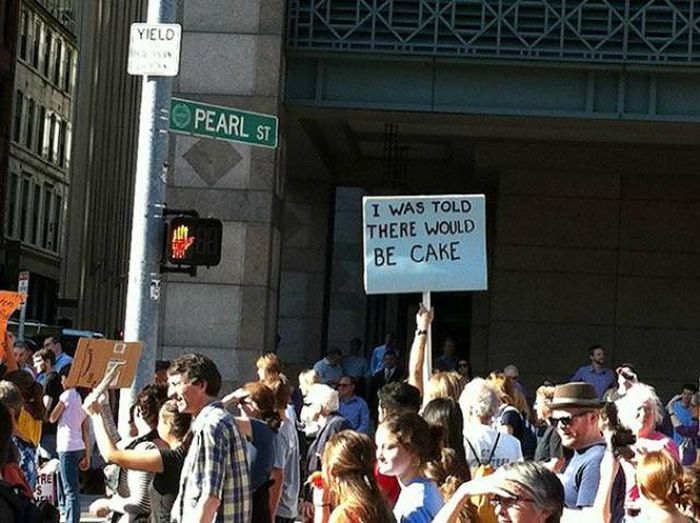 Trolling Protesters (46 pics)