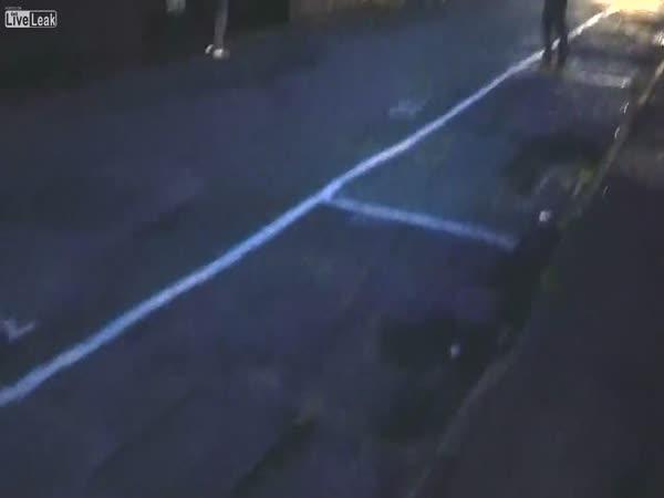 Invisible Rope Prank Causes Car Crash
