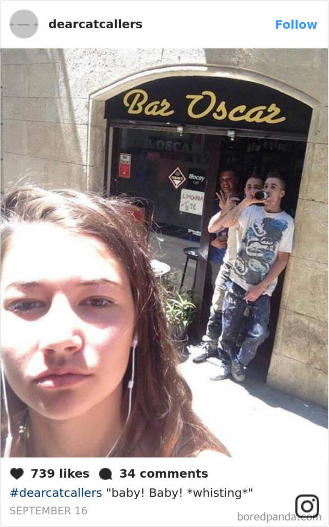 This Girl Decided To Finally Do Something About Catcalling (24 pics)