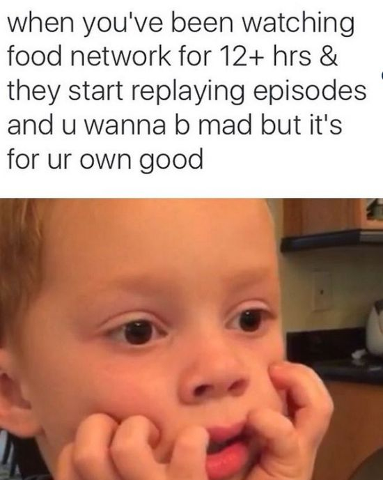 Memes for People Who Love the Food Network (18 pics)