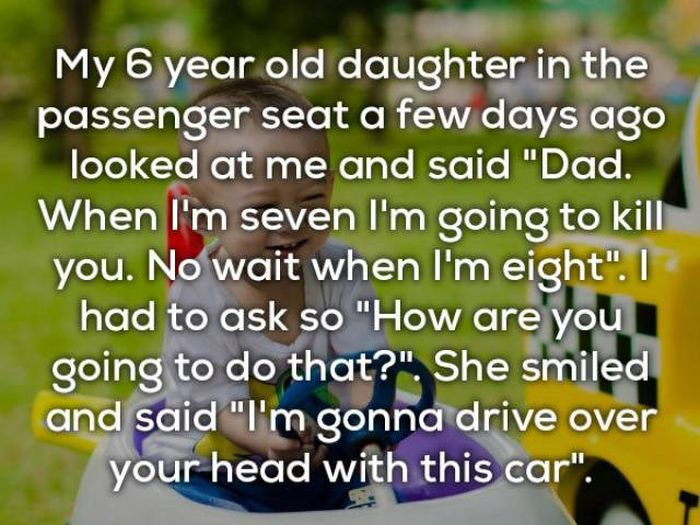 Kids Can Say Things That Will Freak You Out Forever (24 pics)