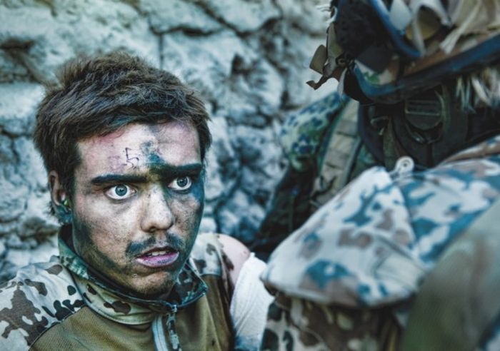 The Look Of The Soldiers Who Left The Battle (13 pics)