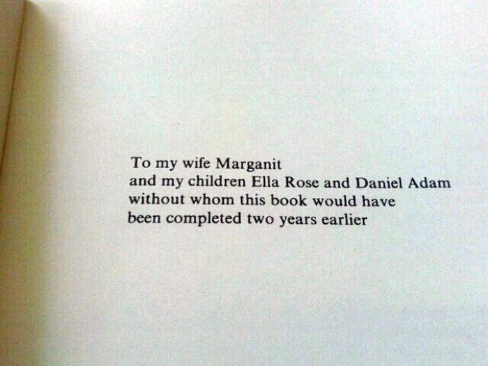 Brilliant Book Dedications (18 pics)