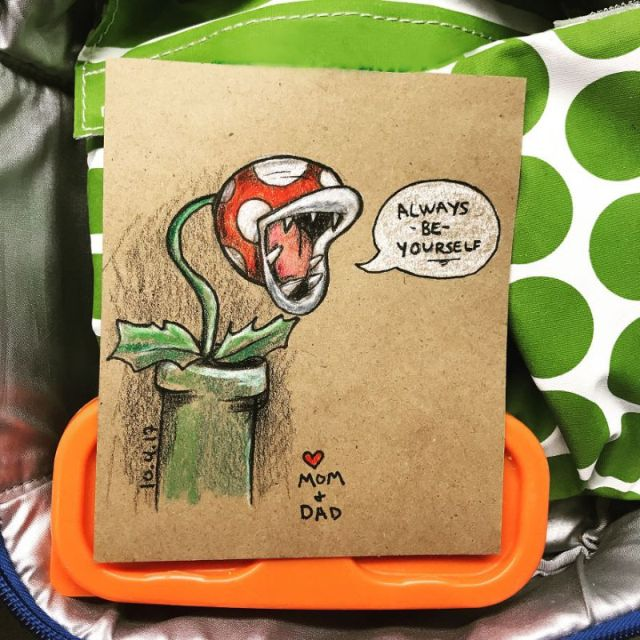 Lunchbox Doodles For Kindergarten Kid (10 pics)
