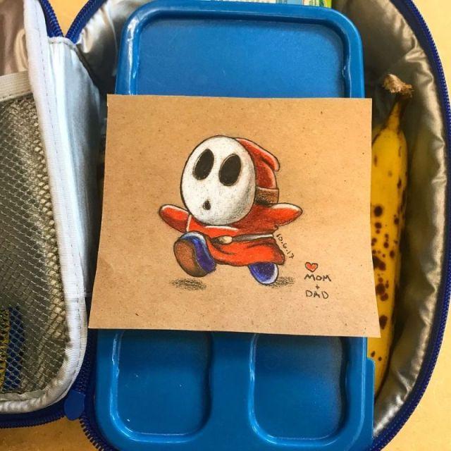 Lunchbox Doodles For Kindergarten Kid (10 pics)