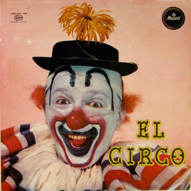 Vintage Album Covers With Clowns (17 pics)