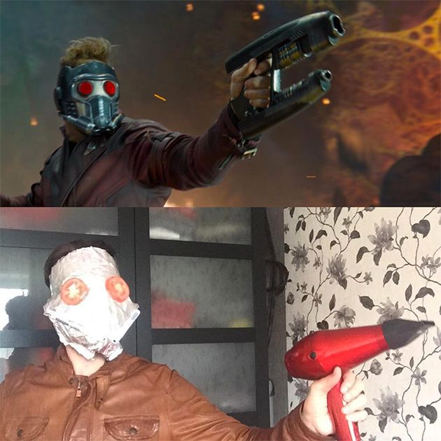 Russian Guy Makes a Funny Cosplay On Instagram (11 pics)