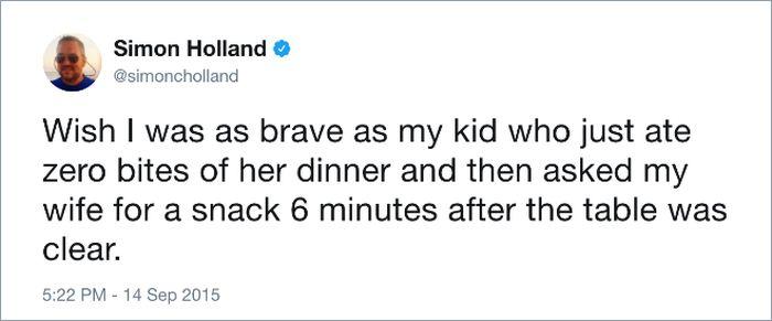 Parents vs. Mealtime (18 pics)