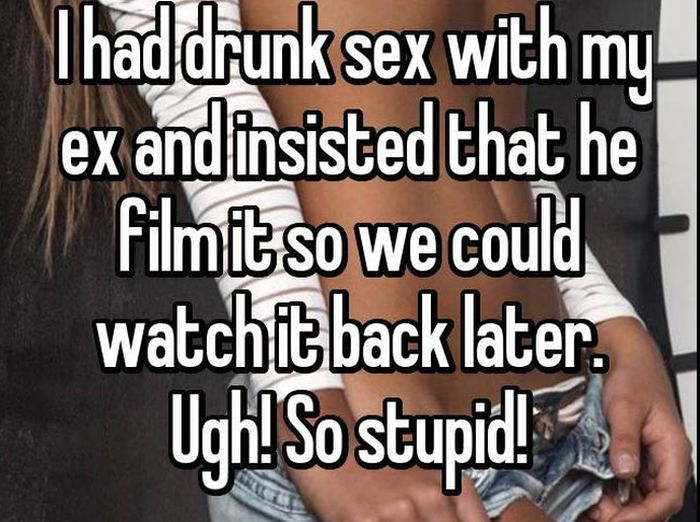 Women Share The Most Embarrassing Things They Did While Drunk (13 pics)