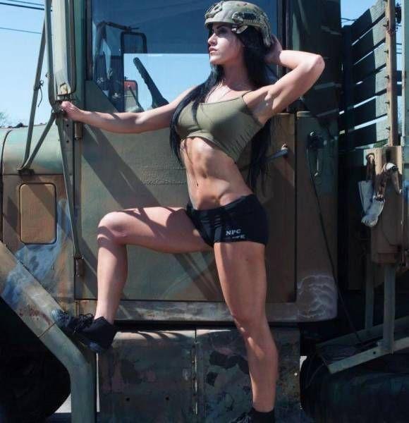 Beautiful Army Girl Alysia Macedo (15 pics)