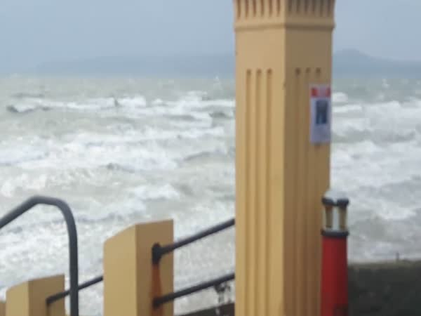 Hurricane Ophelia Hits Ireland