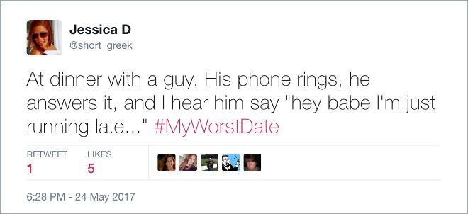 People Sharing Their Dating Horror Stories (18 pics)