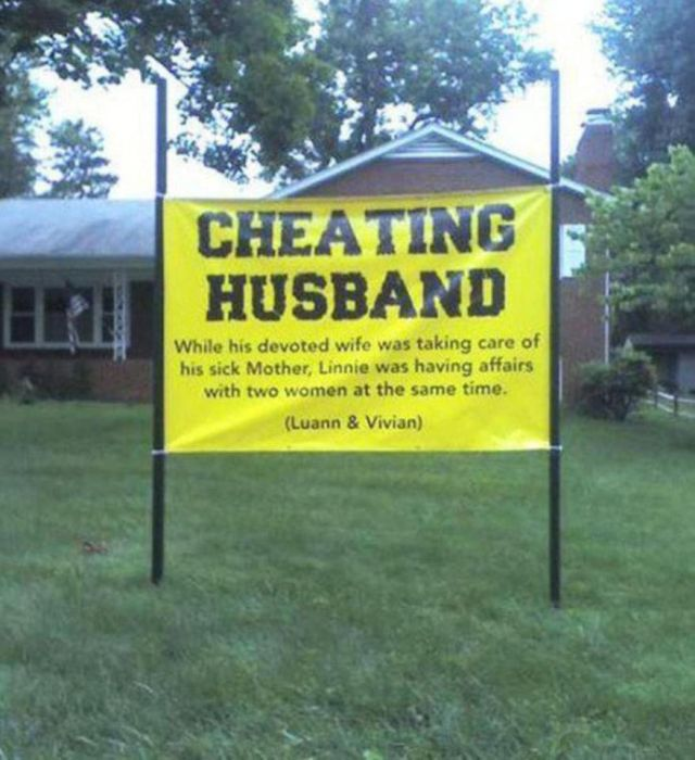 People Who Cheated (11 pics)