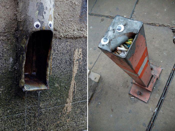 Bulgarian Artist Eyebombs City's Streets (16 pics)