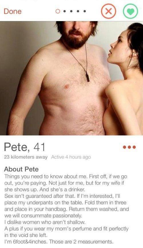 The Worst Tinder Profile Pictures Ever (9 pics)