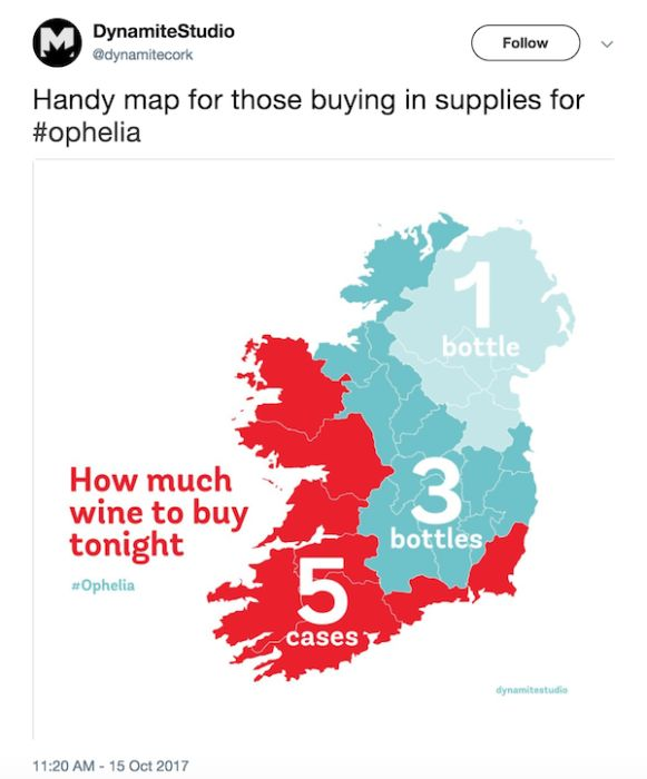 Irish People Can't Take Storm Ophelia Seriously (20 pics)