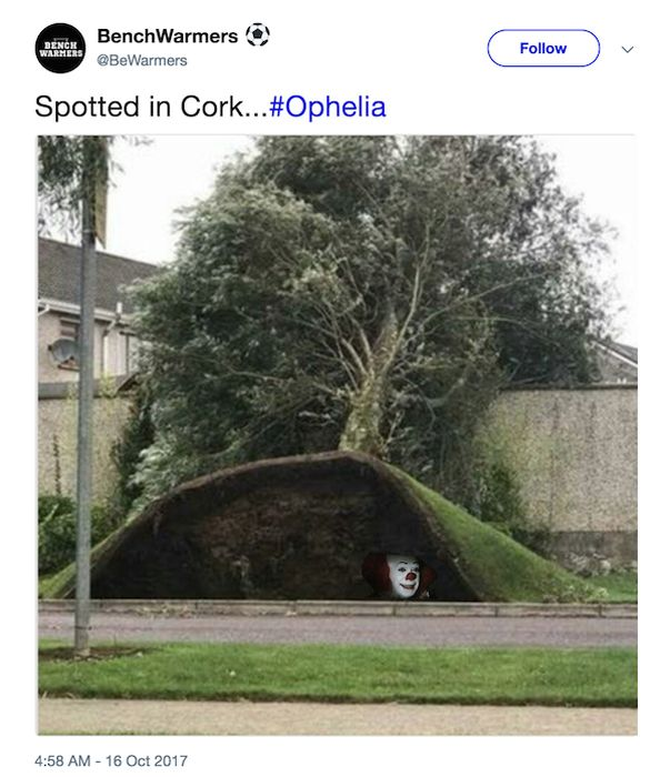 Irish People Can't Take Storm Ophelia Seriously (20 pics)