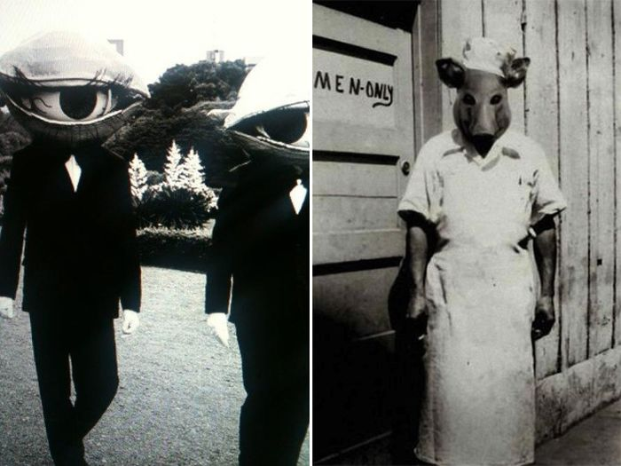 Creepy Vintage Halloween Costumes (20 pics)