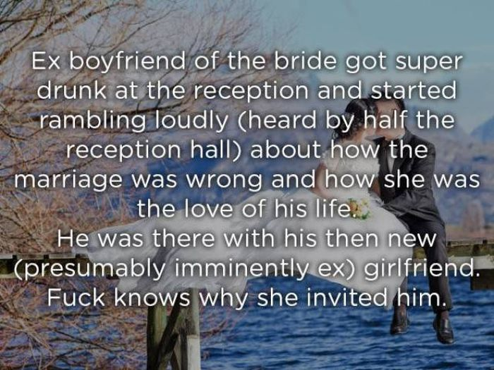 Insane Stuff At Weddings (26 pics)