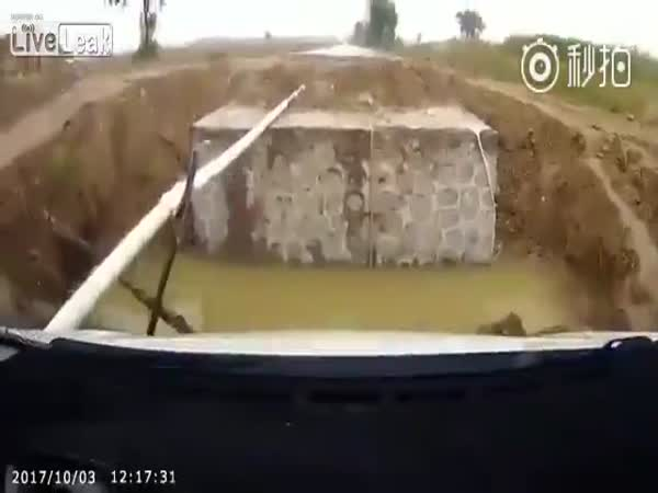 Sat-Nav Car Crash