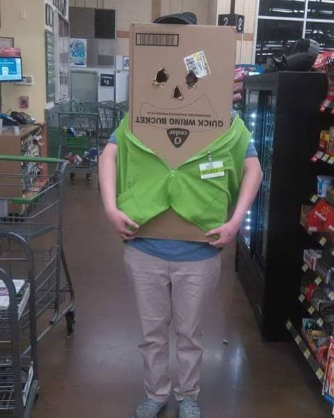 Very Simple But Crappy Halloween Costume Ideas (15 pics)