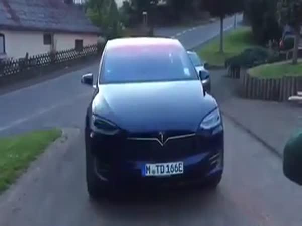 Tesla Model X Dance