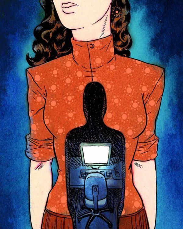 Sharply social illustrations (20 pics)
